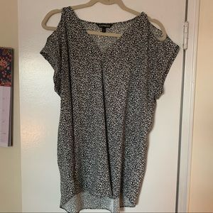 Blouse with Shoulder Cut Outs